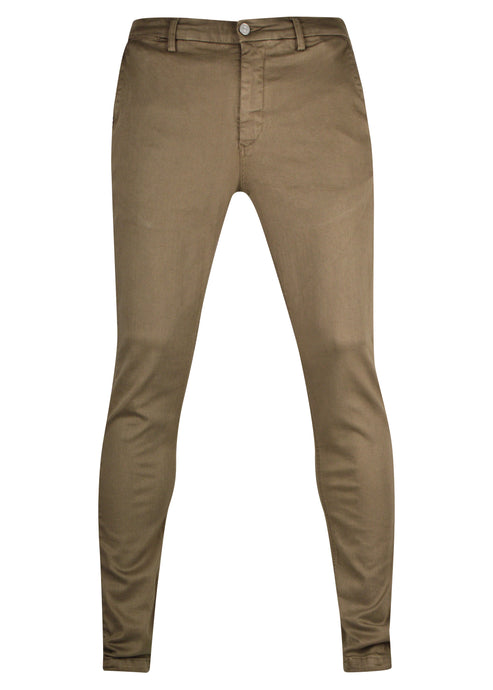 Replay - SLIM FIT ZEUMAR HYPERCHINO COLOUR JEANS Stretch Cotton - 100071 - Tan