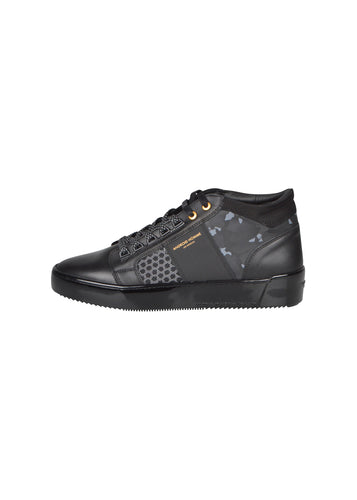 Android Homme - Propulsion Mid Top Geo Reflexive Camouflage - 100072 - Stealth Black Camouflage - Black