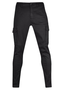 Replay - Cargo Hyperflex Color Jeans - 099509 - M9649 8166197 - Black