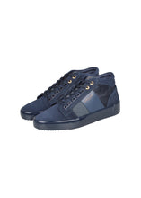 Android Homme - Propulsion Mid Top Sneaker Camo Mix Stingray Detail - 099039 - Navy
