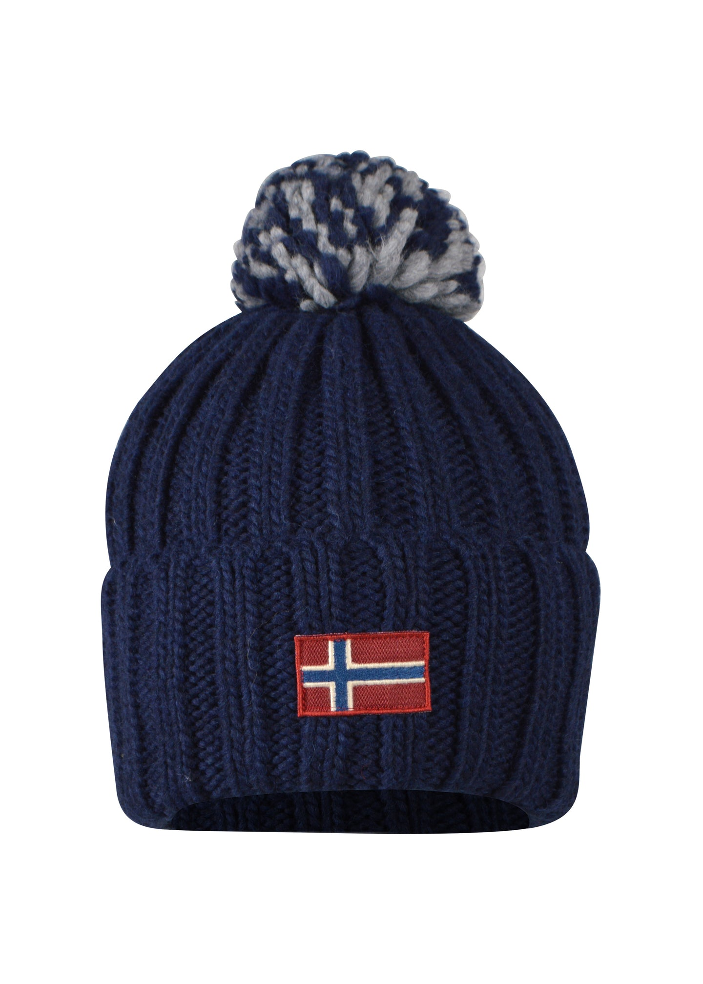 Napapijri- Ski knit Bobble Hat . One Size Semiury- 100321 - Navy