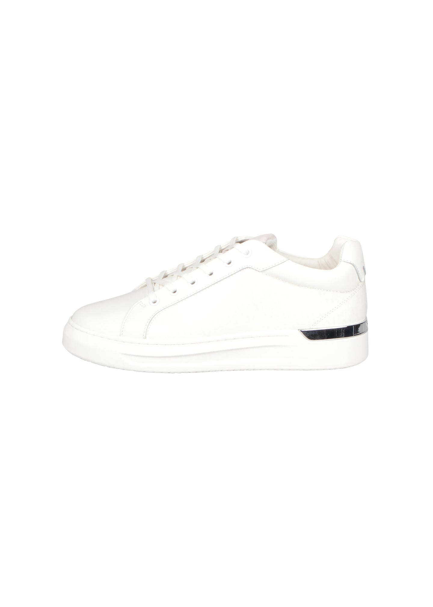 Mallet- GRFTR Monogram Classic Low Trainer - 100056 - White
