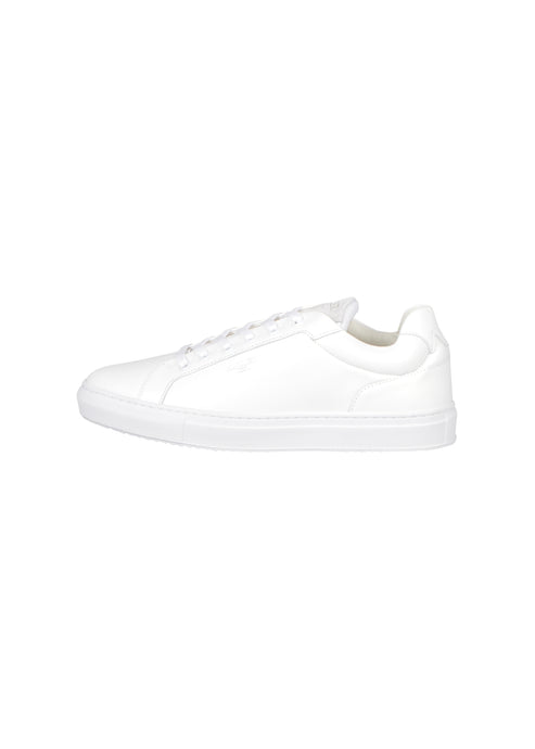 Mallet - Low Profile Cup Sole Trainer - 100077 - White