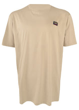 Paul & Shark - Crew Neck T-Shirt Badge on Chest - 099317 - Beige
