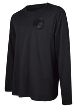 Versace Collection - Long Sleeve Tonal Rubber Half Medusa Iconic Logo - 096050 - V800491R2 - Black Black