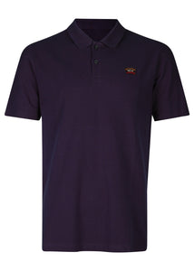 Paul & Shark - Classic Pique Short Sleeve Polo Badge - 100182 - Navy