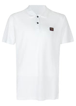 Paul & Shark - Classic Pique Short Sleeve Polo Badge - 100182 - White