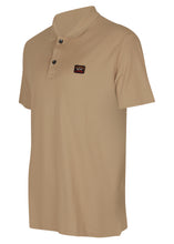 Paul & Shark- Classic Pique Short Sleeve Polo Badge - 100182 - Sand