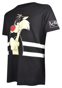 Iceberg - Iconic Sylvester The Cat T-Shirt - 099435 - F016 - Black