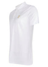 Versace Collection - Short Sleeve Classic Iconic Half Medusa Polo Shirt - 095011 - V800708 - White Gold