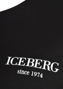 Iceberg - Short Sleeve Multi Logo On Back T-Shirt - 099442 - F029 - Black