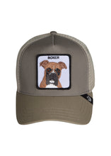 Goorin Bros Tyson Boxer Dog  Trucker Hat - 099534 - Tyson Boxer Dog