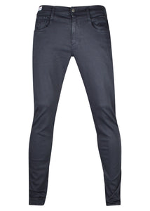 Replay - SLIM FIT HYPERFLEX ANBASS JEANS 5 Pocket - 100032 - Navy