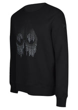 Moose Knuckles - Dennison Crewneck Sweatshirt Matrix Iconic Logo Image - 100143 - Carbon Black