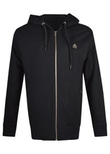 Moose Knuckles - Treford zip through hooded Track  jacket - 100132 - Black