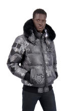 Moose Knuckles - Pengarth Fur Bomber Jacket - 100230 - Camouflage Silver