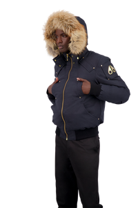 Moose Knuckles - Little Rapids Bomber - 098500 - Navy Gold