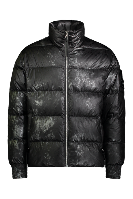 Moose Knuckles - Javelin Carbon Camouflage Print Puffer Jacket - Black Carbon