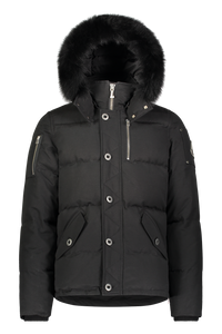 Moose Knuckles - 3Q Fur Hooded Parka - 100327 - Black Black