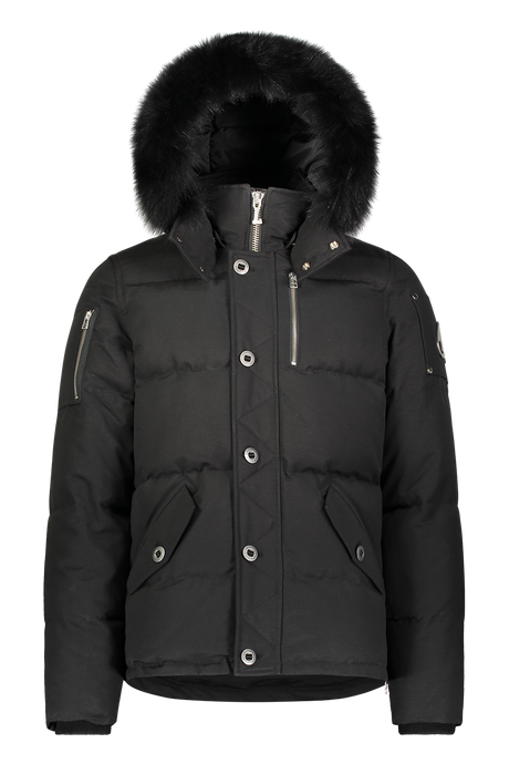 Moose Knuckles - 3Q Fur Hooded Parka - Black Black