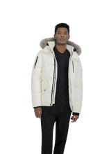 Moose Knuckles - 3Q Fur Hooded Parka - White Grey