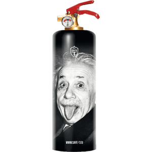 Safe-T Designer Fire Extinguisher Albert Einstein unique housewarming gift