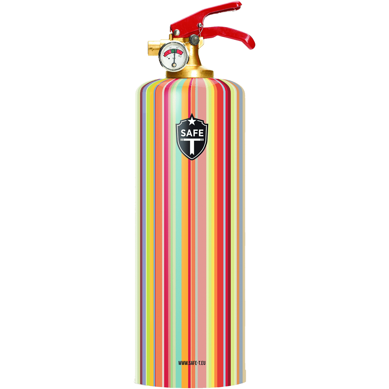Safe-T Designer Fire Extinguisher fullcolors unique housewarming gift