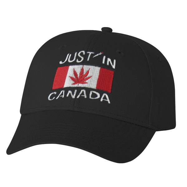 Canadabis flag embroidered Cap