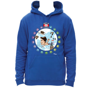 Just'in goose flight hoodie