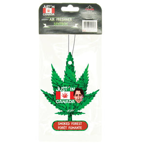 Smoked forest car freshener – Justin Trudeau cannabis flag
