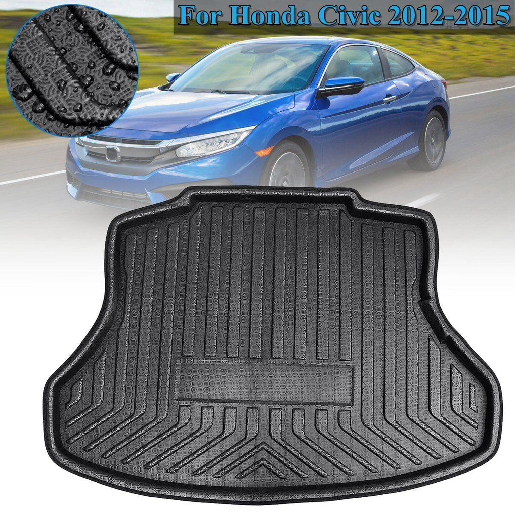 Trunk Mat Carpet Cover For Civic 2012 2013 2014 2015 Accessories