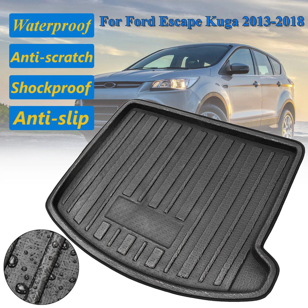 Trunk Mat Carpet Cover For Ford Escape Kuga 2013 2014 2015 2016 2017 2018,  - Any Car Accessories
