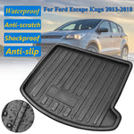 Trunk Mat Carpet Cover For Ford Escape Kuga 2013 2014 2015 2016 2017 2018