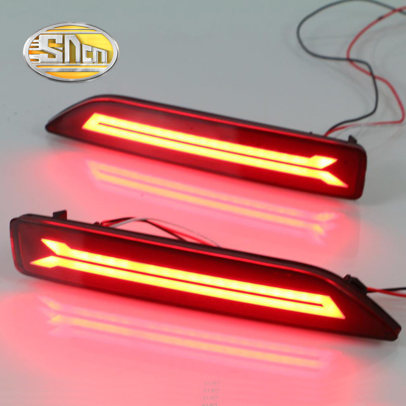 LED Rear Bumper Fog Lights For Honda City 2012 2013 2014,  - Any Car Accessories