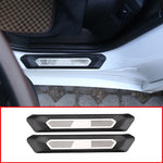 Car Door Sill Protector For BMW X3 G01 2018 2019 and  BMW X4 G02 2018 2019 With Colorful M3 Logo,  - Any Car Accessories