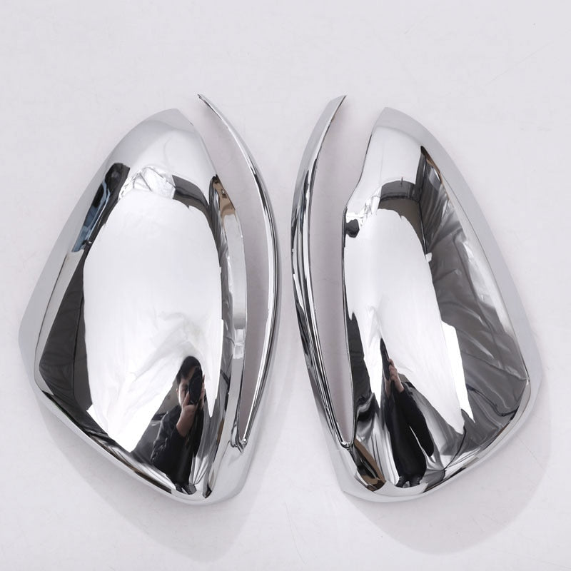 Chrome Side Mirror Cover Trim For Mercedes Benz W222 S-Class S300 S320 S350 S400 2014-2017,  - Any Car Accessories