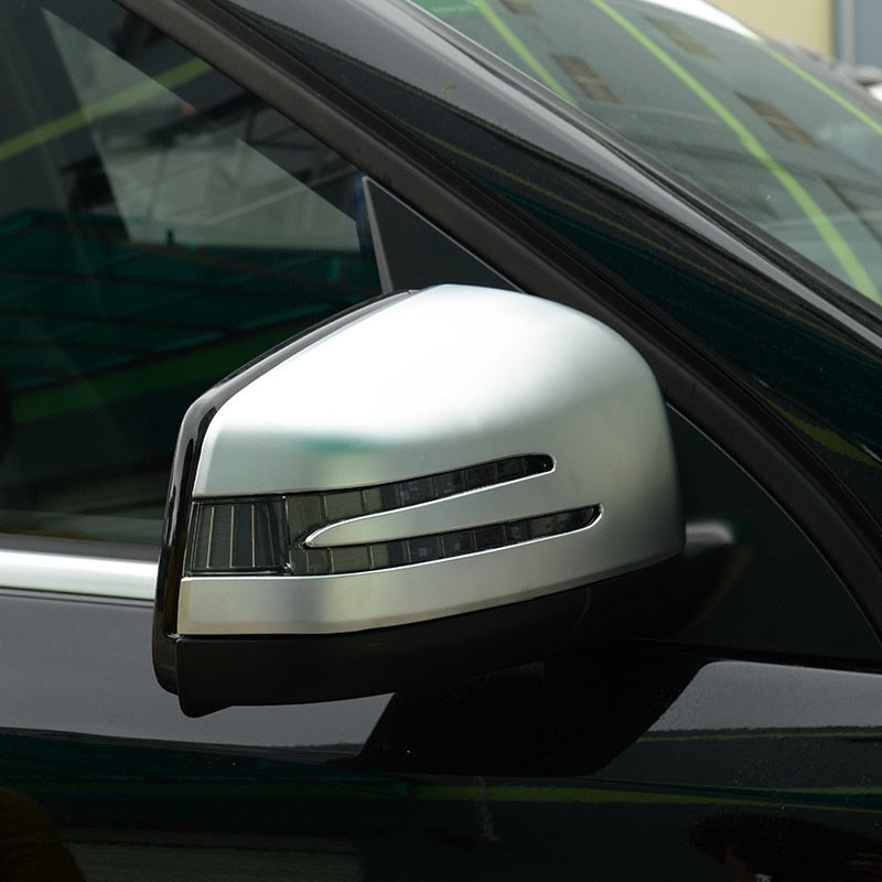 Chrome Side Mirror Cover Trim For Mercedes benz ML GL 2013-2016 GLE GLS Class 2015-2017,  - Any Car Accessories