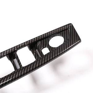 Carbon Fiber Window Switch Button Cover Trim For BMW 2 Series F45 F46 218i 2015-2018,  - Any Car Accessories