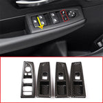 window Buttons Carbon Fiber Cover trim For BMW 2 Series F45 F46 218i 2015-2018