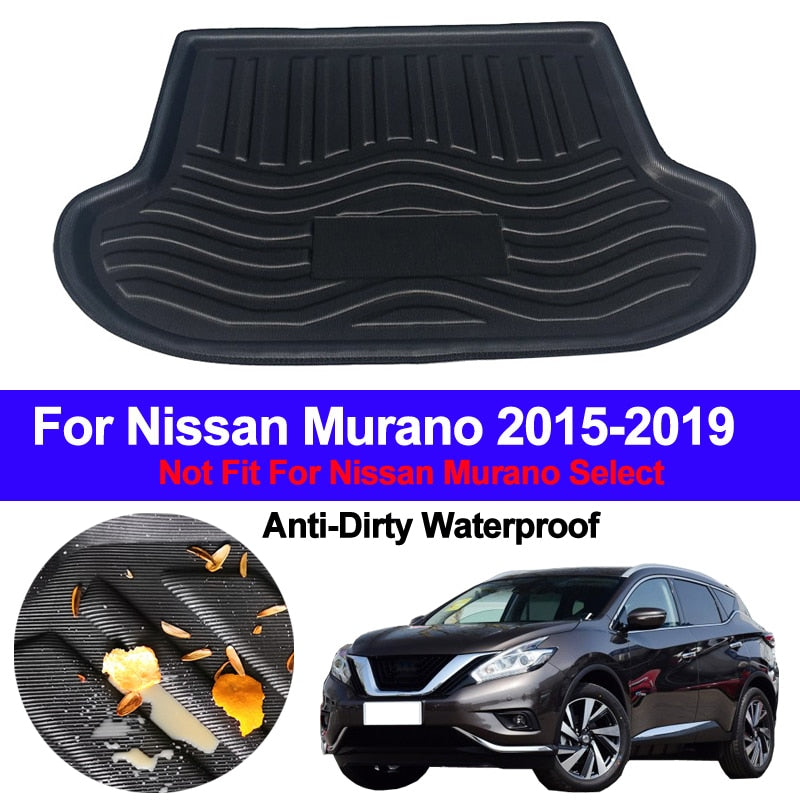 Trunk Mat Carpet Cover For Nissan Murano 2015 2016 2017 2018 2019