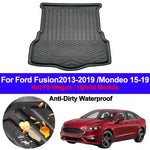Trunk Mat Carpet Cover For Ford Fusion 2013 - 2017 2018 2019 Mondeo 2015-19,  - Any Car Accessories