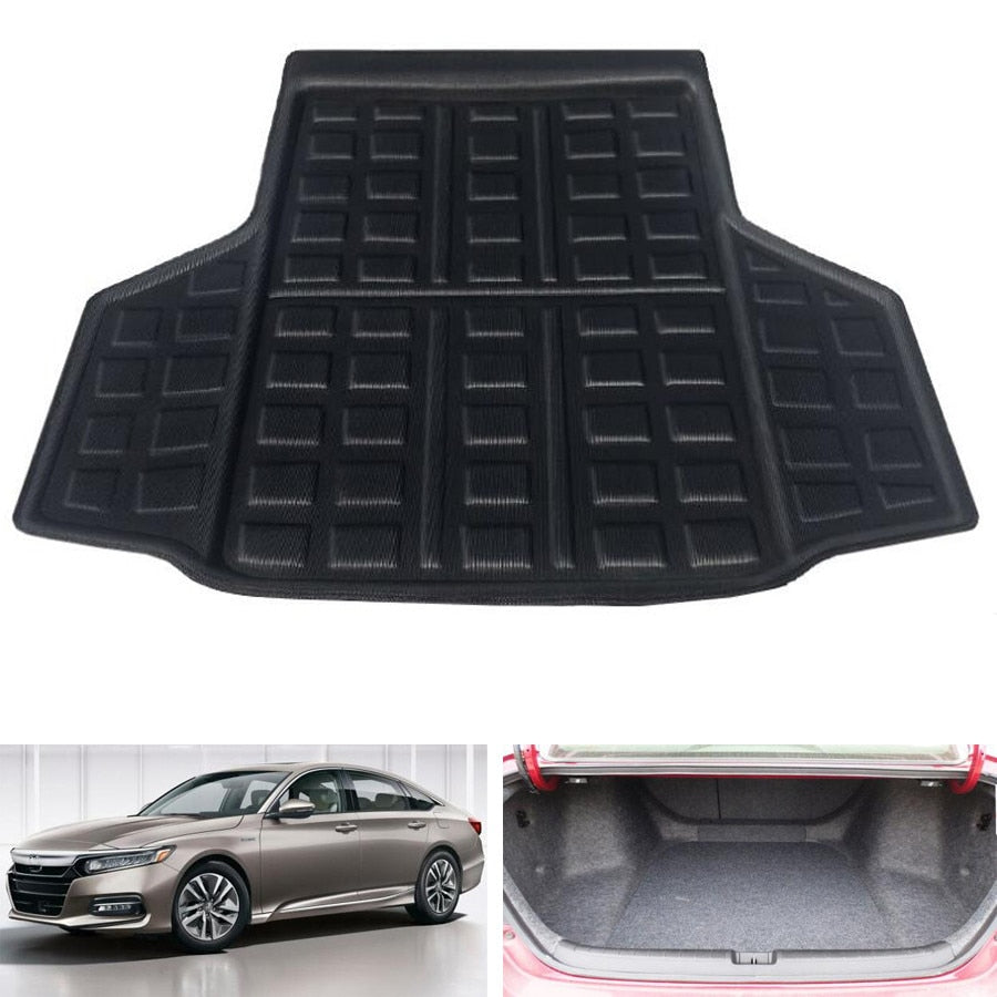 Trunk Mat Carpet Cover For Honda Accord 10th 2018