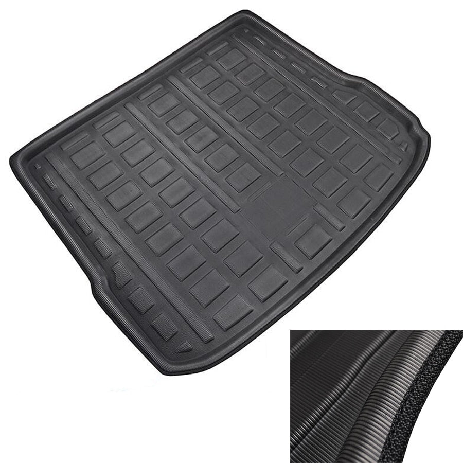Trunk Mat Carpet Cover ForAUDI Q5 2008-2017 1st Gen For Audi SQ5 2013-2017