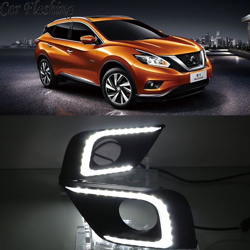 Daytime Running LED Fog Lights ForNissan Murano 2015 2016 - Any Car Accessories
