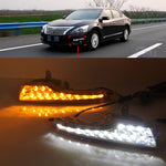Daytime Running LED Fog Lights For Nissan Teana Altima 2013 2014 2015 2016 - Any Car Accessories