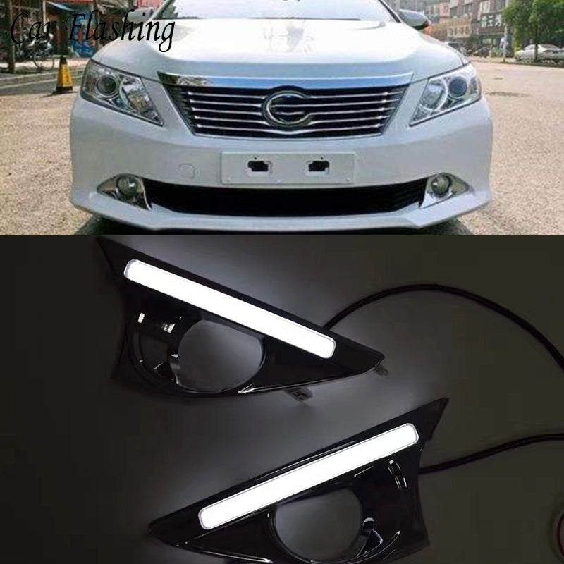 Daytime Running DRL Fog Lights For Toyota Camry 2012 2013 2014 - Any Car Accessories