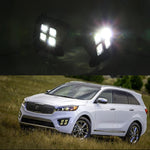 Daytime Running LED Fog Lights For KIA Sorento 2015 2016