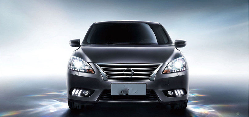 Daytime Running DRL Fog Lights For Nissan Sentra 2012 2013 2014 2015 2016 - Any Car Accessories