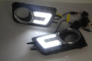 Daytime Running DRL Fog Lights For Volkswagen VW Tiguan 2010 2011 2012 - Any Car Accessories