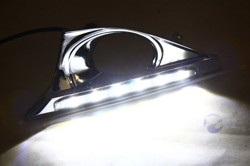 Daytime Running DRL Fog Lights For Toyota Aurion 2012 2013 2014 - Any Car Accessories